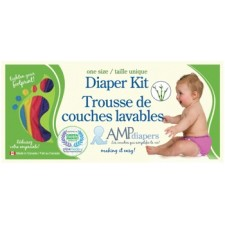 AMP One Size Diaper Kit ~Bamboo~